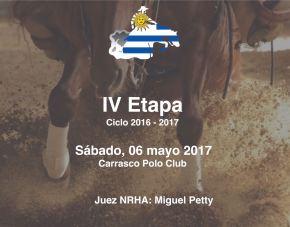 COMPETENCIA // Etapa IV del Campeonato ANCRU2016-2017