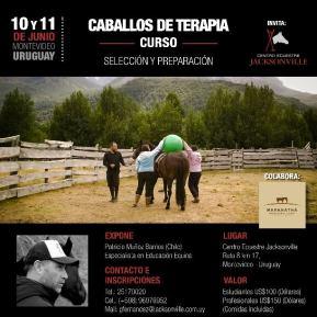 CURSO // CABALLOS DE TERAPIA Selección yPreparación